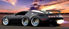 #Beast #Bugatti #Car #Monster #Gold