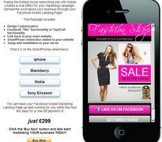 Retail Shop Example http://dwmc.mobi/socialmobile/fashion/index.html