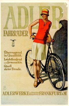 vintage advertising Adler, transportation as it should be