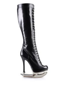Now that is a boot. The ice is scary enough this would devastate me. LOL