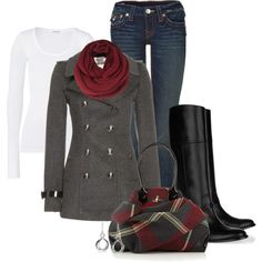 """""""A chill in the air"""" by happygirljlc on Polyvore"""