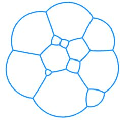 Create a pattern like bubbles with 120 degree angles connections - Grasshopper - McNeel Forum Mathematical Model, Drawing Machine, Bubble Art, Generative Art, Soap Bubbles, English Paper Piecing, Angles, Circles, Muse