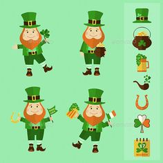 Saint Patrick's Day Set