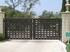 Wrought Iron & Steel Custom Driveway Gates