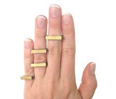 Tube Knuckle Rings