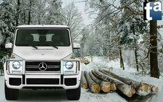 Mercedes-Benz #G550 IN A WINTER WONDERLAND #MercedesBenz G-Class #GClass #G550 #SUV #OffRoad 2012 (1) #Automotive