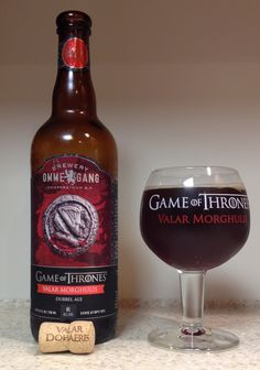 Ommegang Game of Thrones Valar Morghulis Abbey Dubbel