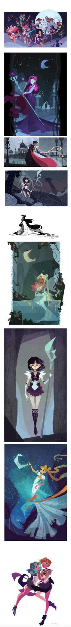 Sailor Moon by Ann Marcellino