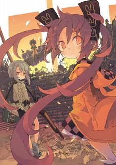 """""""the cursed children"""" from black bullet"""