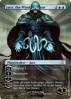 Jace, the Mind Sculptor Z's Proxy Factory