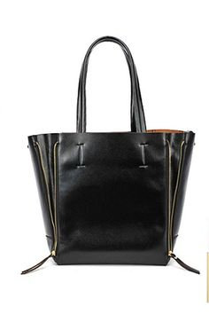 Chic Casual Zipped Sides Shoulder Bag