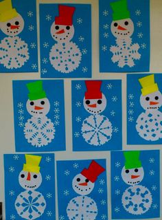 Snowflakes art, snowflake craft, winter fun, winter theme, winter activities for kids Kids Crafts, Winter Crafts For Kids, Toddler Crafts, Preschool Crafts, Art For Kids, Creative Crafts, Crafts For Preschoolers, Quick Crafts, Preschool Classroom