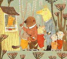 Lody Marczak - illustration by Rita Fürstenau (close up)