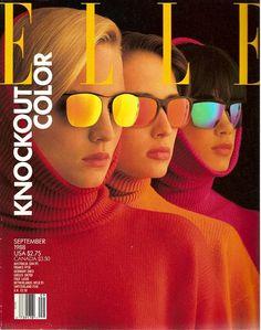 Elle, 1988. Colors.