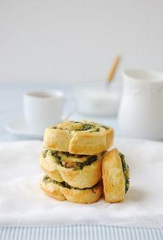 Spinach and Feta Scrolls