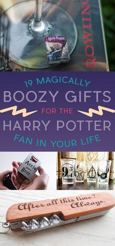 19 Magically Boozy Gifts For The Harry Potter Fan In Your Life