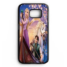 Disney Tangled Princess Rapunzel Digital Samsung Galaxy S6 Edge Plus Case