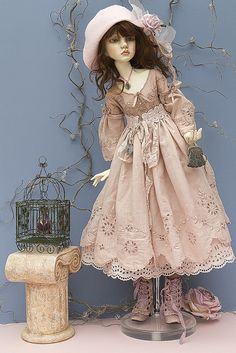 granny54:  DOLLSTOWN Amy by jeanoak (Lililace Originals) on Flickr.