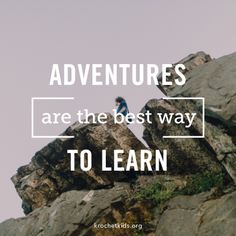 Adventures   Get out there