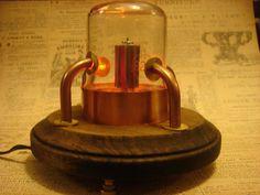 Steampunk Vacuum Tube Night Light by Steampunkarsenal on Etsy, $45.00
