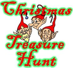 Christmas Treasure Hunt or birthday or any other occasion, great ideas