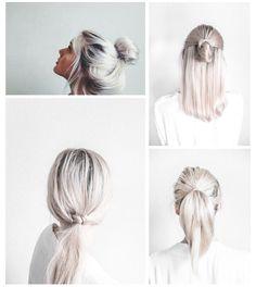 OBSÉDÉE par la tendance capillaire du «white blonde hair! | «Ni Petites Ni Bourgeoises