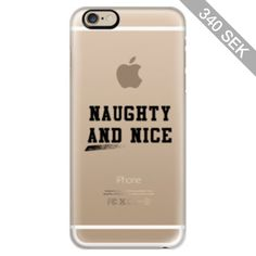 iPhone 6 Plus/6/5/5s/5c Case - Naughty and Nice Christmas