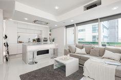 Luksusta ja tunnelmaa kattohuoneistossa