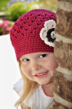 It seems like each season has a different need when it comes to hats, but pretty much any style can be worn in the fall. One of my favorites is a hat I designed the first spring I was in business. ...***So Adorable!**