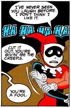 Batman Laughs The Batman Adventures: Mad Love By Paul Dini & Bruce Timm