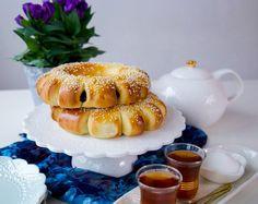 Dadelkransar Zeina, Eid Mubarak, Gelatin, Bagel, Doughnut, Cheesecake, Panna Cotta, Sweets, Lunch