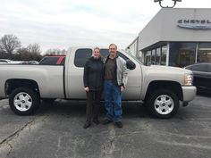 Christopher's new 2009 CHEVROLET SIVLERADO! Congratulations and best wishes from Jay Hatfield CDJR and AMANDA TIDWELL.