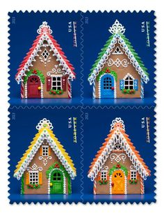 Cool ideas for gingerbread houses!