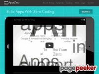 Using AppsZero is easy,You don't need to be an Xcode expert or a software developer to create your own iphone, ipad & android apps. We allow you to publish unlimited apps to itunes, Google play & amazon kindle for one low monthly price,