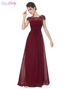 81384b5860 Cheap Vestidos de noche Más Nuevo Envío Libre EP09993 Escote de Encaje  Negro Espalda Abierta Acanalada