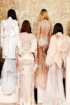 Givenchy  Couture Fall 2010 #lace ☮k☮