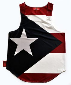 MSRP $60.03 This item features the Puerto Rico flag printed on a high tech, silky looking knitted polyester fabric. The graphic is an all over print protecting the design integrity from front to back.