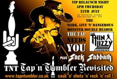 Relaunch night tonight at the Tap 'N' Tumbler