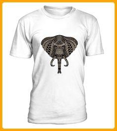 Elephant Animal Zoo Portrait - Wal shirts (*Partner-Link)