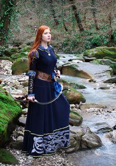SONDERRABATT  Merida cosplay Kleid Schottische von NothernFox