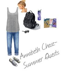 """Annabeth Chase"" by kenzie-cupcakes on Polyvore"