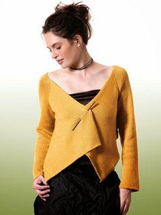 NobleKnits Knitting Blog: Berroco Sanpoku Cardigan Free Knitting Pattern