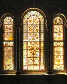 New Light through Old Windows, Rippon Lea Estate, Melbourne, Australia 2010 by richbd on Flickr. Stained Glass Angel, Stained Glass Windows, Glass Ceramic, Mosaic Glass, Glass Rocks, Window View, Mandala, Leaded Glass, Old Windows