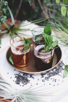 Get my recipe for Traditional Moroccan Mint Tea Recipe on the Free People Blog #freepeople
