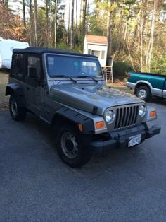 2000 Jeep Wrangler 45000 miles - $6500 (Acton) Beautiful jeep wrangler with only 45,000 miles soft top only in excellent shape .. No rust, excellent paint . Mint frame... Never has seen a winter, was towed to Florida behind a RV to use down there before I owned it.. I only put on 2 thousand miles in the summer. Complete stock besides the fender flares and sound bar, stereo.smoke tail lights... 4cylinder... Come take a look....