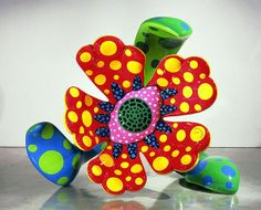Yayoi Kusama - May 30 - July 17, 2009 - Images - Gagosian Gallery-Monster Flowers