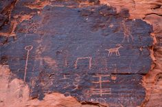 Hohokam Indians drew these more than 600 years ago.
