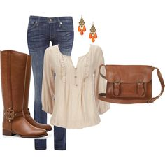 """Back in the saddle again..."" by dee-povich on Polyvore"