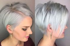 Short Hairstyle Grey 2017 - Gallery