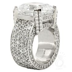 wow! #rings #diamonds http://shopping.schubachstore.com/custom-designs